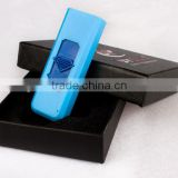 Colorful plastic cover Windproof Flameless Rechargeable Electronic USB Cigarettes Lighters