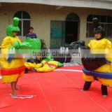 foam padded inflatable sumo suits