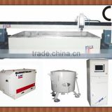 water jet cutting machine with KMT high pressure pump                                                                         Quality Choice