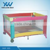 New design softtextile baby cot /baby playpen travel cot
