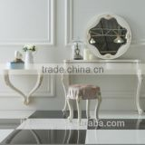 French classical furniture of dressing table with mirror                                                                         Quality Choice