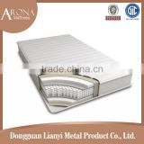luxury plush soft newly design promotion with knnited fabric pocket spring comfort mattress