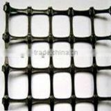 Road Construction Material Biaxial Plastic Geogrid Bidirectional extendable plastic geogrid