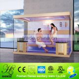 HS-SR1240Y 2 person dry cheapest corner traditional sauna room