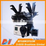 Maytech 3 Axis Gopro Gimbal for DJI Phantom 2 Vision camera gimbal with gimbal motor and AlexMos Controller available
