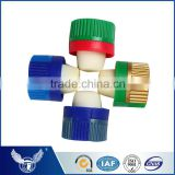High output colored synthetic cork stopper for glass bottles