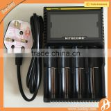Online shopping uk Standard Battery Use and Electric Type 18650 D4 LCD smart battery charger