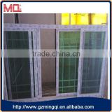 pvc window upvc frame sliding windows with grills                                                                                                         Supplier's Choice