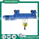 300kg 2 ton electric chain hoist with wire rope