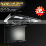 "High definition 22"" TFT LCD Roof Mount BUS Monitor"