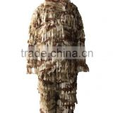 2015 NEW 3-D camo camouflage suit ghillie suit hunting jacket hunting pants
