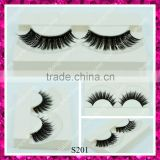 Top quality synthetic hair false eyelash double layer thick lashes wholesale