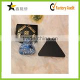 Cheap custom gold stamping triangle jewelry display Card For Earrings