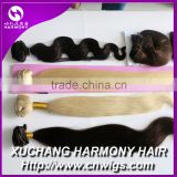 Real xuchang harmony hair products co ltd harmony hair extensions clip in                                                                         Quality Choice