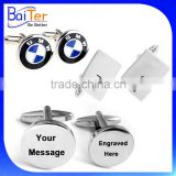 China Wholesale Custom Stainless Steel Cufflinks With Logo/Engraved Logo Cufflinks                                                                         Quality Choice