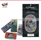 diamond sticker/acrylic rhinestone sticker sheets/animal shape acrylic mirror wall stickers