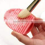 Hot Sale BPA Free Cosmetic Cleaning Brush Makeup Silicone Brush Cleaning Tool