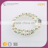 G68658H01 Wholesale Fashion Love Balance Viking Freshwater Cultured Pearl Yiwu Bracelet Beads Plus