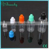 2015 beauchy new product pet raw material for bottles pet bottles for liquid thc e cigarette
