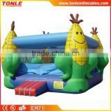 Customized commercial inflatable corn bounce house/indoor mini bouncer castle/inflatable jumper for sale