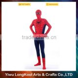 Wholesale hot selling adult cosplay movie star spiderman costume