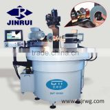 Semiautomatic grinding wheel repair machine to repair wheel