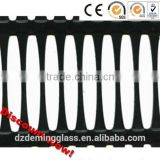 one-way uniaxial steel-plastic composite geogrid