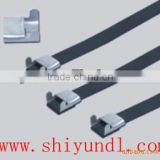Iran hot selling Stainless Steel PVC Coated Cable Tie (Wing Type) cable tie china