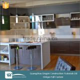 Hot selling modular kitchen philippines design with high gloss door