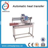aluminium plate digital sublimation heating printing machine for textile