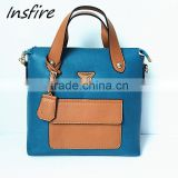 China wholesale new fashion tote bag manufacturer trendy leather handbags vietnam