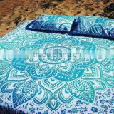 Queen size Indian hippie duvet covers doona covers quilt covers mandala duvet cover with pillows set throw quilt cover