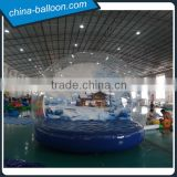 Beautiful inflatable snow globe Chirstmas bubble ball with customized picture background                                                                         Quality Choice