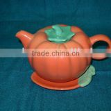 ceramic teapot with beautiful design,various colors