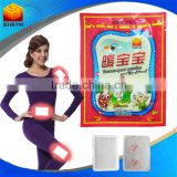 2015 Health products disposable heating patch/ body heating pads/ disposable instant menstrual pain relief patch
