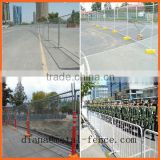 Retractable Temporary Fence/Temporary Picket Fence/Temporary Fence Stands Concrete