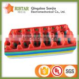 PVC Mould light weight Egg incubator kinds of holes practical plastic egg trays with high quality
