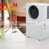 china supplier air source small bathroom heat pump water heater electric r410a for heating cooling and hot water