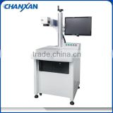Free shipping pigeon birds ring laser printing marking engraving machine with rotary device