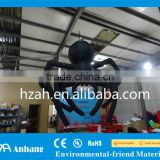 Giant Hanging Inflatable Black Spider for Halloween Decoration