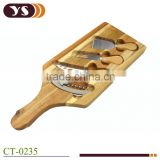 Factory mini cheese board acacia wood chopping cutting board with handle