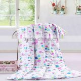 Printed duvet chinese silk quilt good quality/ quilt cover set