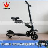 2 wheel electric scooter with seat/350Wself balancing electric scooter/Li-ion battery vespa electric Scooter