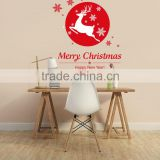 Hot style foreign trade hot style Christmas shop window displays the snowflakes fawn decorative wall stickers DLX0908