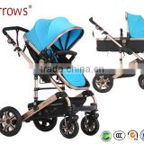 OEM Factory High Landscape Buggy Good Adjustable Baby Doll Stroller/ Fashion Fancy Pram Carriage for Baby