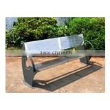 Outdoor furniture stainless steel bench seat