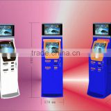 OEM function touch screen Self Payment Kiosk of Coin Operated Dual Screen Parking Lot Sensor System with RFID EM Reader