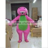 Barney Mascot Costume, Purple Barney the Dinosaur Adult Mascot Costume Xmas