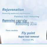 2015 High Frequency IPL Machine Pigmentation Removal Acne Removal Elight IPL Laser Hair Removal