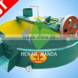 high efficiency peanut soybean sunflower seeds Flat-bottomed heat conducting oil frying pan/wok